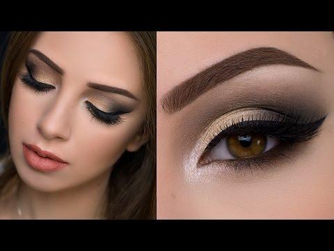 Soft Gold Smokey Eye Tutorial