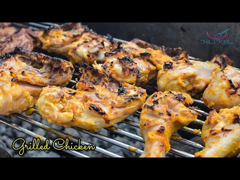 How To Make Grilled Chicken - By Hibas Kitchen