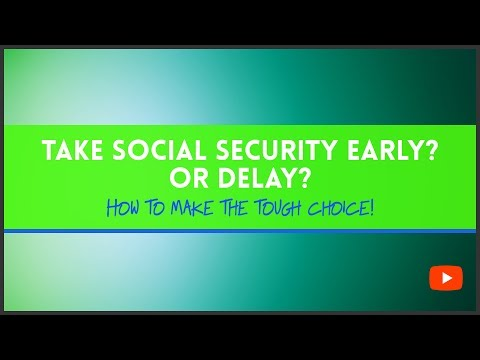 Take Social Security Early? Or Delay? Jason J. Hamilton