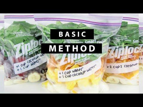 DIY Smoothie  Freezer Packs - Easy Smoothies