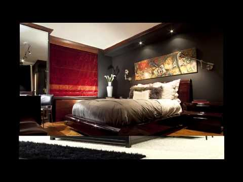 Elegant Mens bedroom decorating ideas