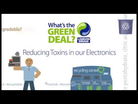 Reducing Toxins in our Electronics