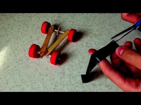 How to make a car - how to make a crazy car   very easy