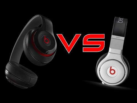 New Beats Studio VS Beats Pro!