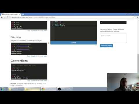 Web developerská škola, časť 18: JavaScript - Celé čísla