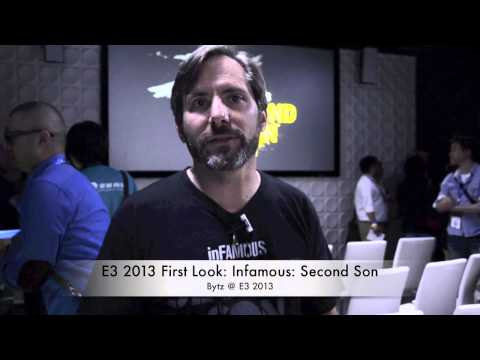 E3 2013 First Look: Infamous: Second Son for PS4
