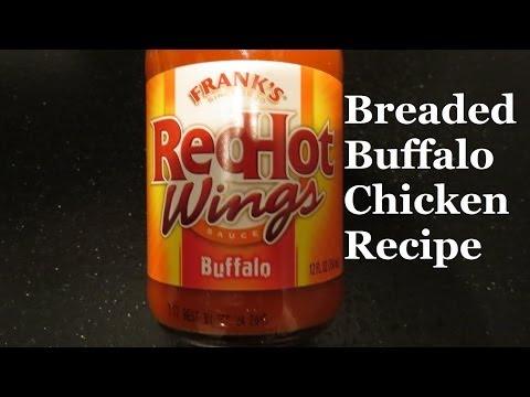Oven Baked Crispy Buffalo Chicken Breast
