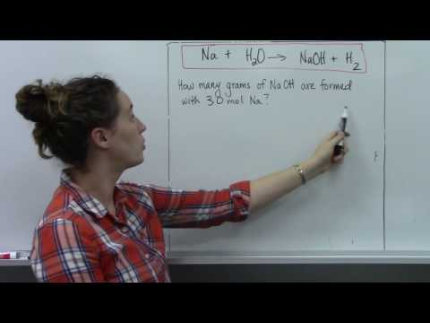 Stoichiometry - Relative Quantities of Substances in a Reaction
