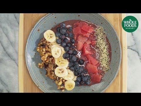 Vegan Smoothie Bowl l Whole Foods Market