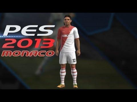 How To Create AS Monaco Team Kits PES 2013/14 & Transfers
