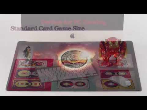 Premium Playmats Card Game Play Mats and Computer Desk Mats