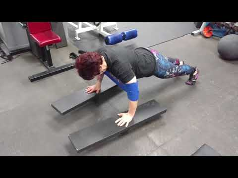Brutal Iron Gym - Extended Time Under Tension Stabilization Push Ups (see description)
