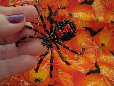Beaded Spider ~ Perfect for pranking or wearing!