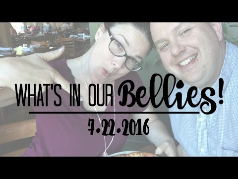 WHAT'S IN OUR BELLIES | 7.22.2016