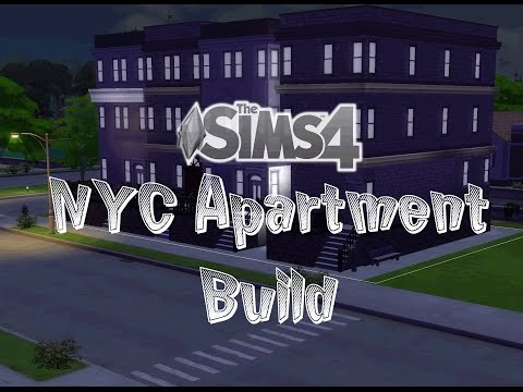 Sims 4 | Small NYC Apartment Build