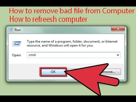 How to protect your computer from bad file(Virus) || Refresh your computer