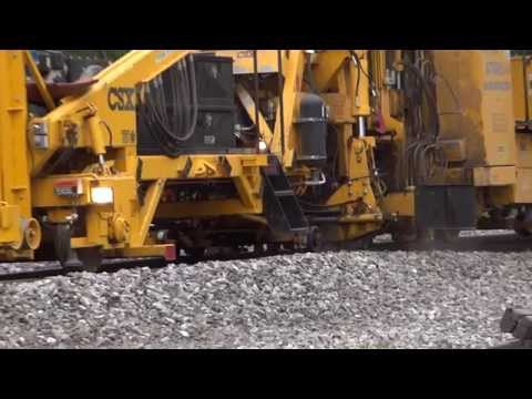 Replacing Railroad Ties In Relay,  MD