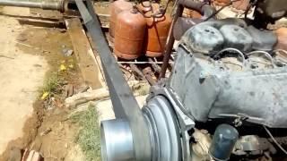 محرك كازوال يشتغل بالغاز بوتان اقتصاد90 في المائة