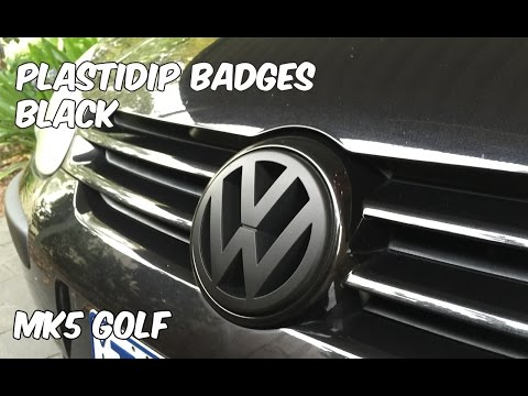 Plasti Dip Golf MK5