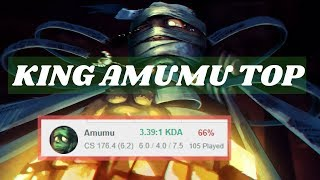 by Amumu Top · 66% Smurf Winrate (Silver3 - Plat5) | Toplane Amumu