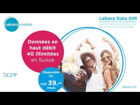 Lebara Europe - Swiss - World & Data SIM (FR)