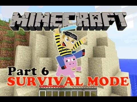 Minecraft - Survival Mode - Part 6 - Where is the Iron?!