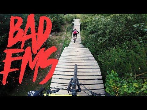 Zum ersten Mal im Emser Bikepark - Leo zeigt mir die Strecke | Fabio Schäfer Vlog #96