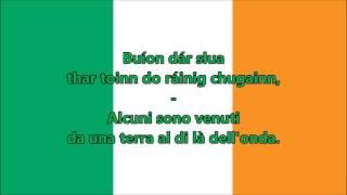 Inno nazionale Irlanda (IR/IT testo) - Anthem of Ireland (Irish version)