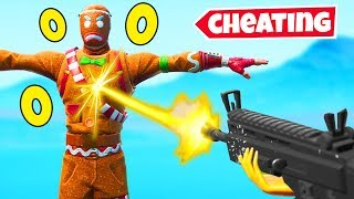 Download becoming INVINCIBLE in fortnite (cheats) Video