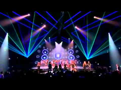 The X Factor final 2011 Finalists - Medley of Songs - Live in Wembley