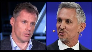 Gary Lineker posts two very different tweets about Jamie Carragher
