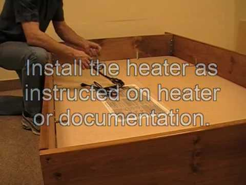 How to set-up and install Your Bookshelf Waterbed