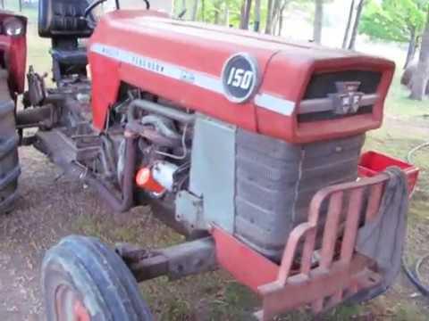 Changing The Hydraulic Oil/Rear End Oil  Massey Ferguson 150