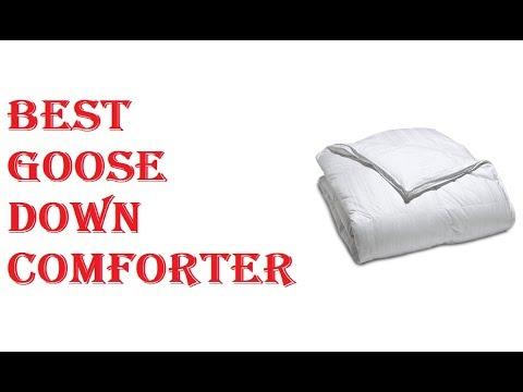 Best Goose Down Comforter 2018