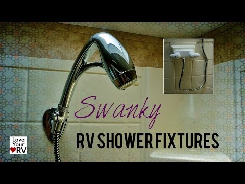 Replacing and Upgrading our RV Shower Fixtures