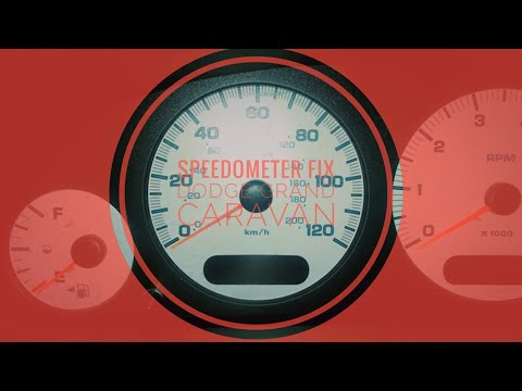 Easy Fix for Broken Speedometer - 2003 Dodge Grand Caravan