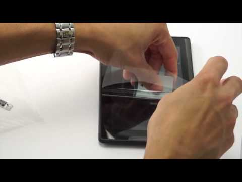 Kindle Fire Screen Protector Instructions