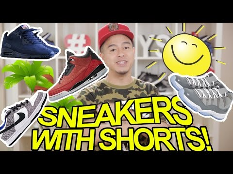 TOP 5 SNEAKERS TO WEAR WITH SHORTS