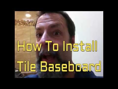 How To Install Tile BaseBroad Fast & Easy Dave Blake License Tile Contarctor.
