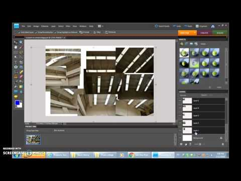 Making a Photocollage in Adobe Photoshop Elements 8