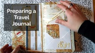 Setting Up My Travel Journal