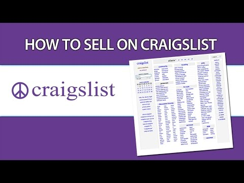 How To Sell On Craigslist - Tips And Tricks
