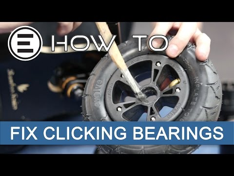 How To Fix Clicking Bearings || Evolve Skateboards