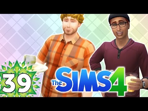 Let's Play The Sims 4 - Part 39 - Dishes & Orange Juice!