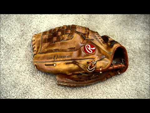 Rawlings RBG36 Baseball Glove Relace - Left Hand Throw   Before and After Glove Repair