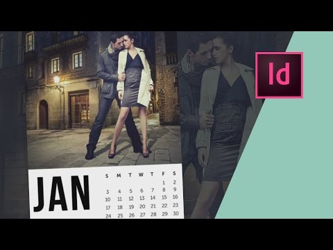 How to Design a Calendar in InDesign // Part One