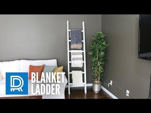 build a blanket ladder