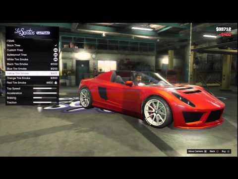 GTA V: Car Customization: Coil Voltic, Super (Lotus Elise, Tesla Roadster) HD