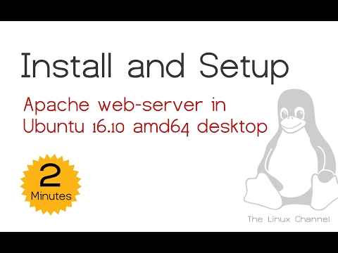 183 Apache web-server installation :: Ubuntu 16.10 amd64 desktop