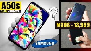Samsung Galaxy A50s - IS IT WORTH ? Exynos 9611 vs Snapdragon 712 😆| M30s - 13,999🤔